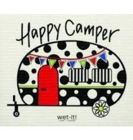 Wet-It Swedish Dish Happy Camper