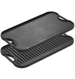 Lodge Cast Iron Reversible Grill/Griddle, Preseasoned cirr