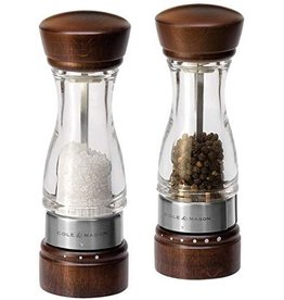 Cole & Mason/DKB Keswick Salt and Pepper Mill Gift Set, Wood
