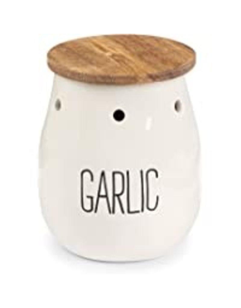 "Mudpie Garlic Keeper ""Garlic"""