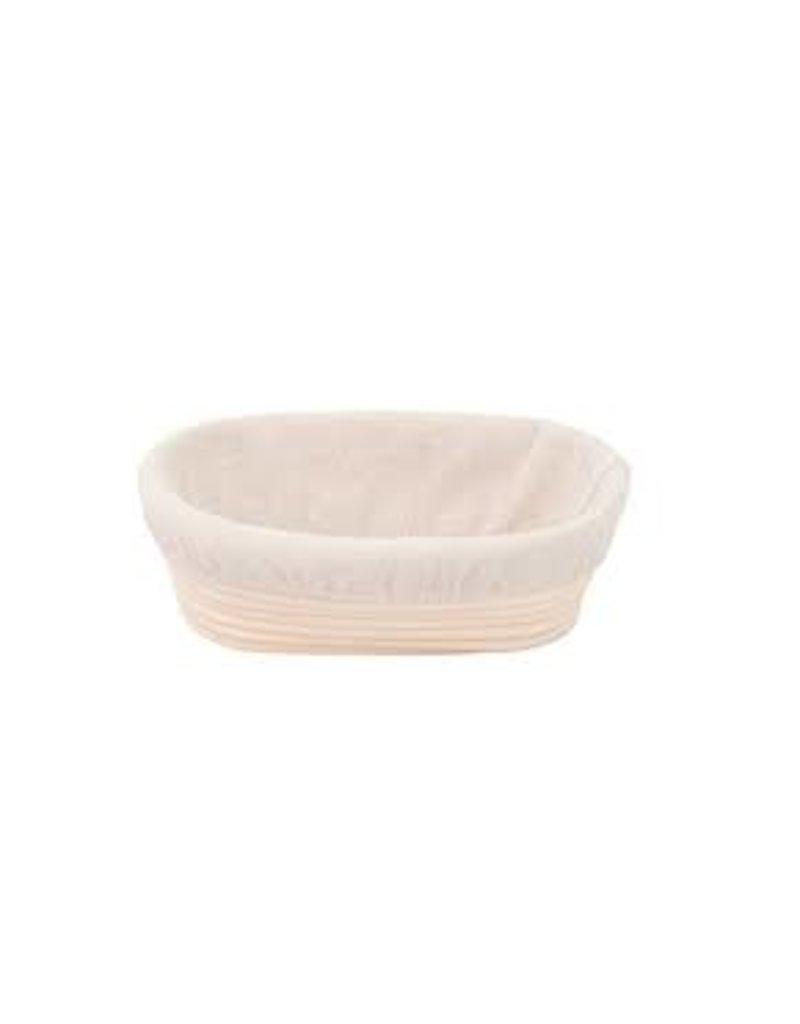 Harold Imports Mrs Anderson's Brotform Oval Bread Rising/Proofing Basket with Liner, 9.25""