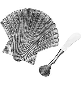 Towle Living SHELL Dish and Spreader Set