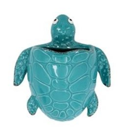Sea Turtle Wall Vase, Medium