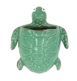 Willow Street/DEI Sea Turtle Wall Vase, Small