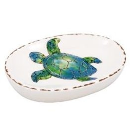 Sea Turtle Ceramic Soap Dish