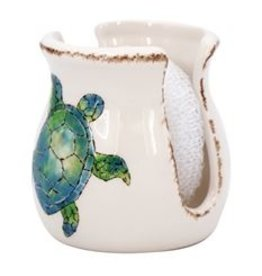 Sea Turtle Ceramic Sponge Holder