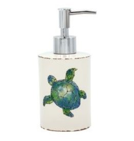 Sea Turtle Ceramic Soap Pump
