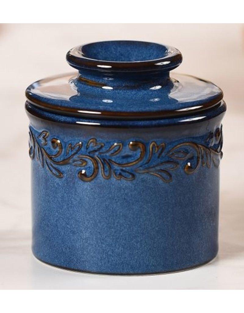 Butter Bell Butter Crock, Antique Denim Blue