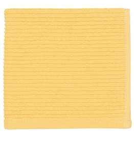 Now Designs Ripple Dish Cloth, Lemon, Set of 2 cir