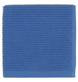 Now Designs Ripple Dish Cloth, Royal Blue, Set of 2 cir