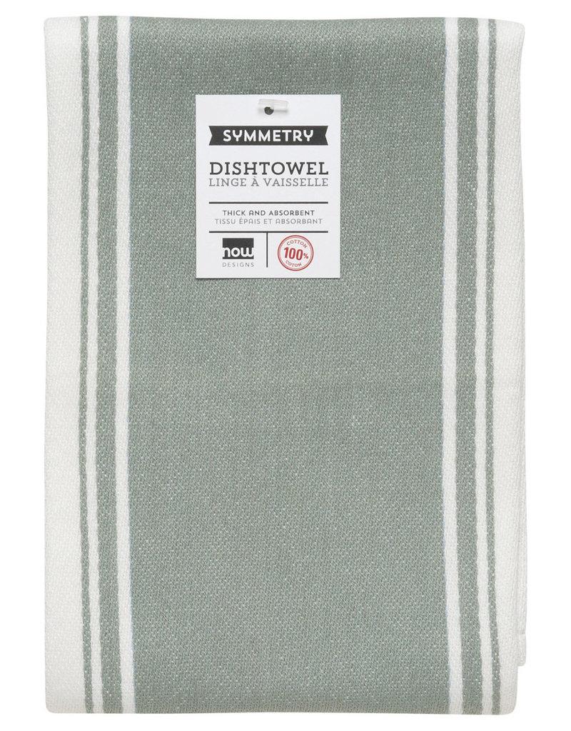 Now Designs Symmetry Kitchen Towel, London Grey