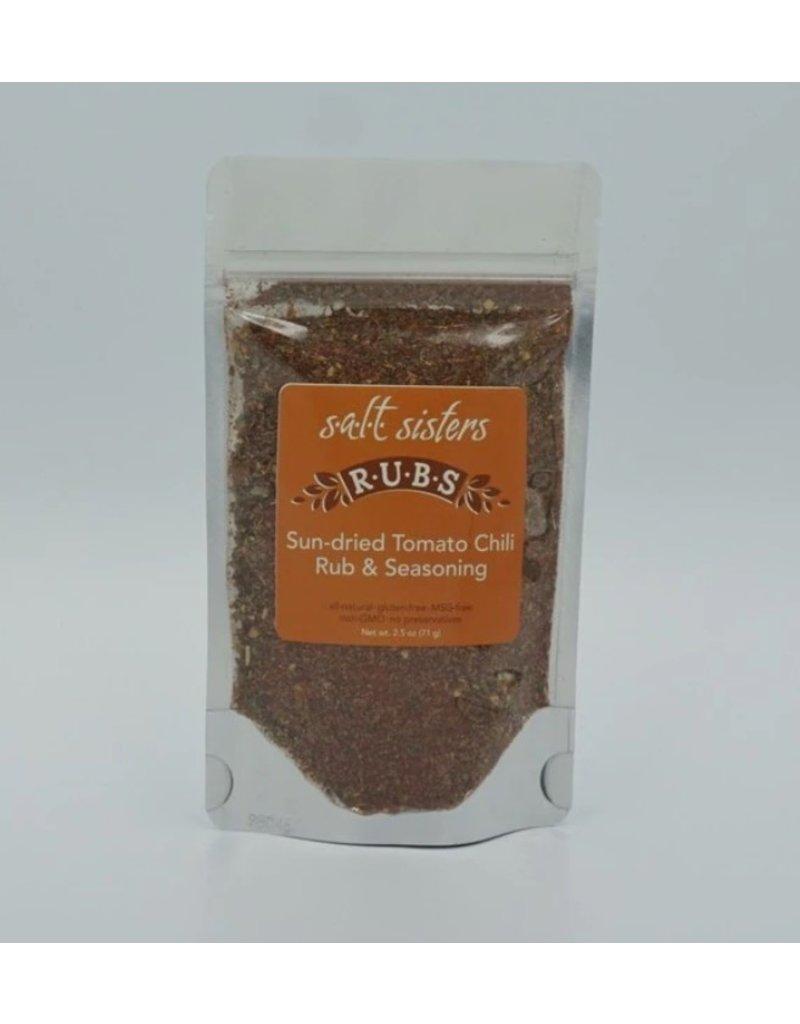 SALT Sisters Sun Dried Tomato Chili Rub & Seasoning 2.5oz