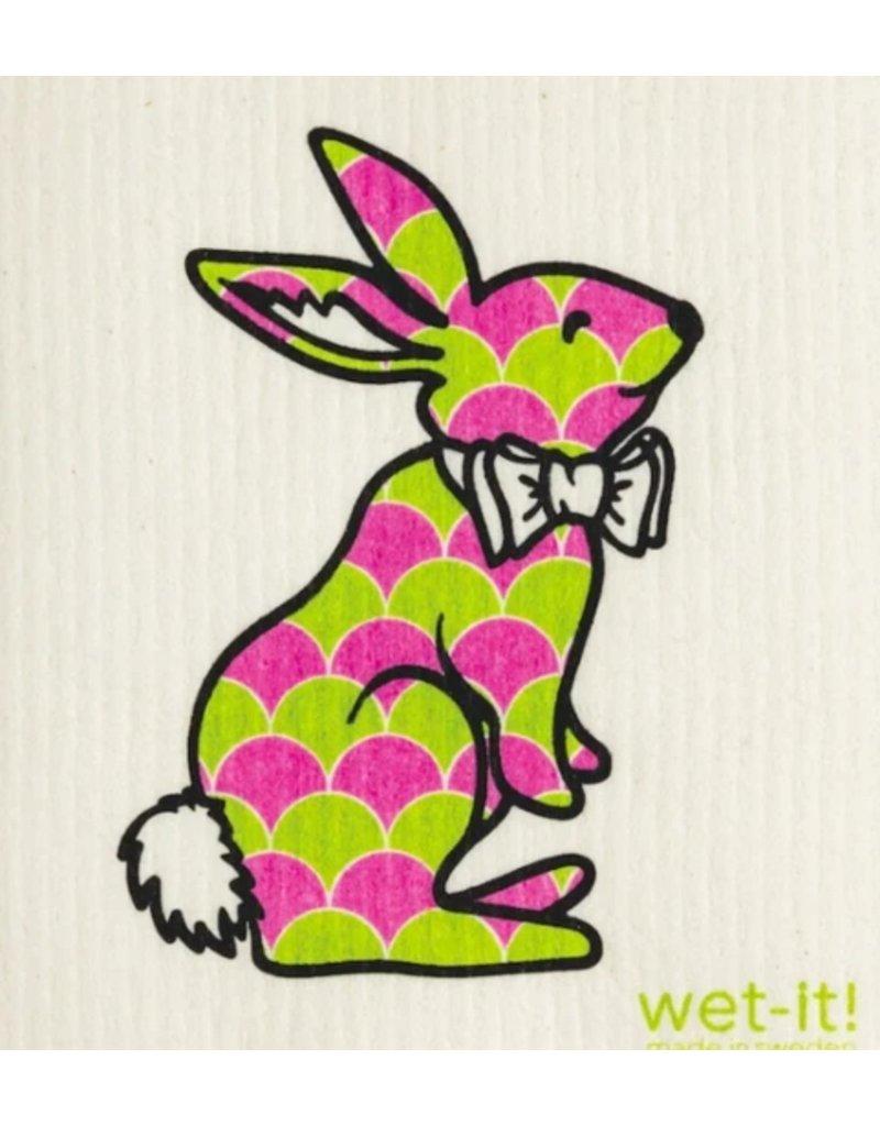 Wet-It Swedish Dish Easter Bunny