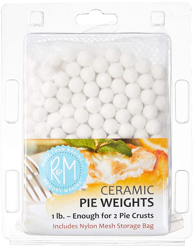 Ceramic Pie Weights, 1 lb. with Mesh Storage Bag