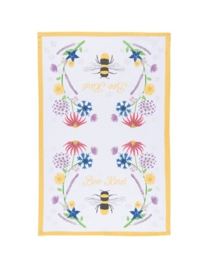 Now Designs Dish towel Bee Kind