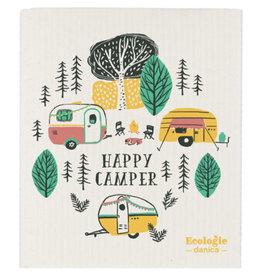 Now Designs Swedish Dish Happy Camper now
