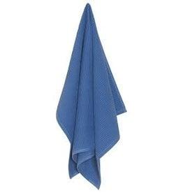 Now Designs Ripple Kitchen Towel, Royal Blue cir