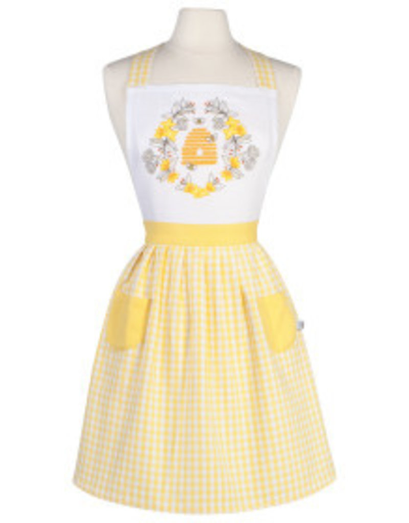 Now Designs Apron Adult Classic Bees