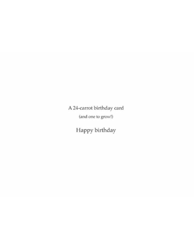 Greeting Card, Birthday, Carrot