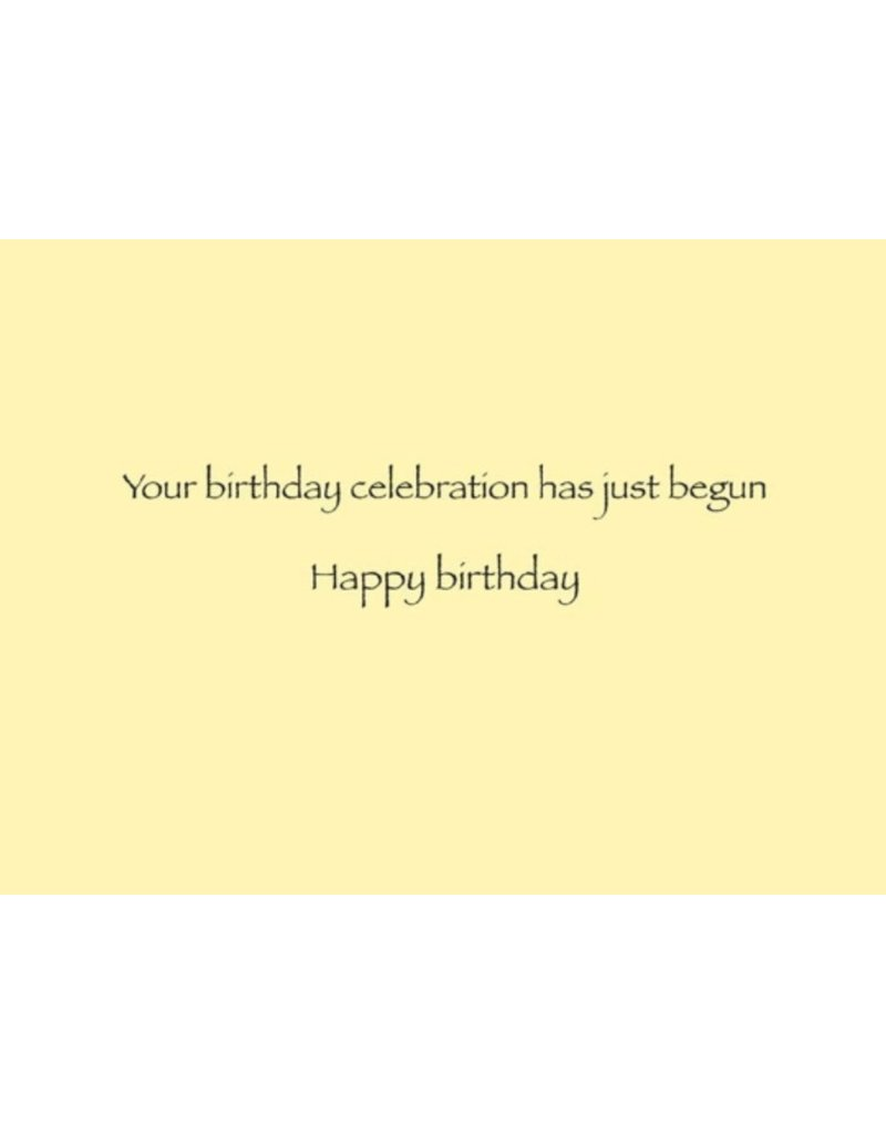 Greeting Card, Birthday, Confetti