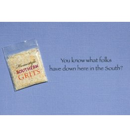 Greeting Card, Southern Collection, Grits