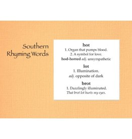 Greeting Card, Southern Collection, Southern Rhymes DISC