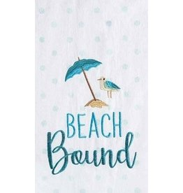 C and F Home Towel, Beach Bound, floursack