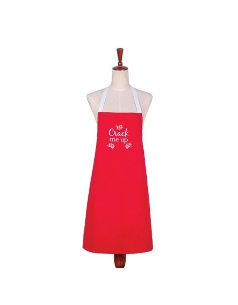 C and F Home Crack Me Up Crab Adult Apron
