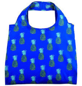 enVbags Reusable Bag with Zipper Pouch - Pineapples