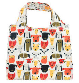 enVbags Reusable Bag with Zipper Pouch - Dogs