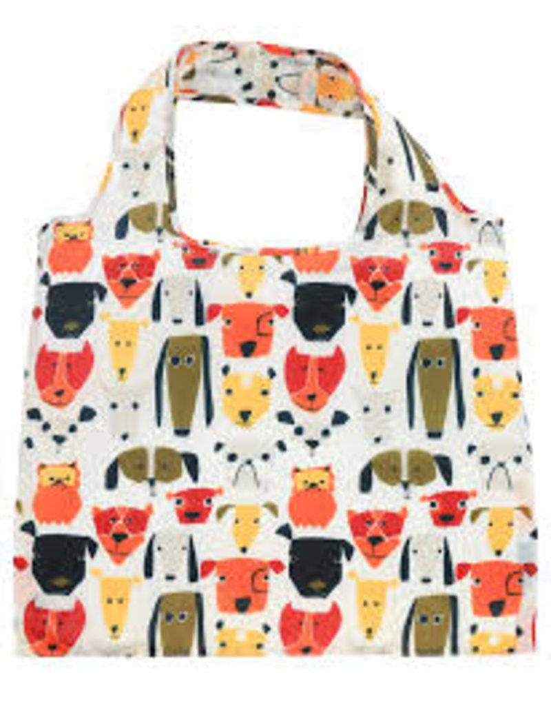 enVbags Reusable Bag with Zipper Pouch - Dogs