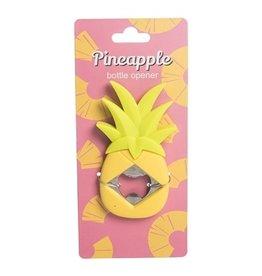 Bottle Opener, Yellow Pineapple