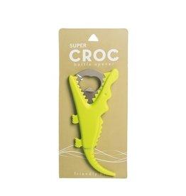 Bottle Opener, Green Gator