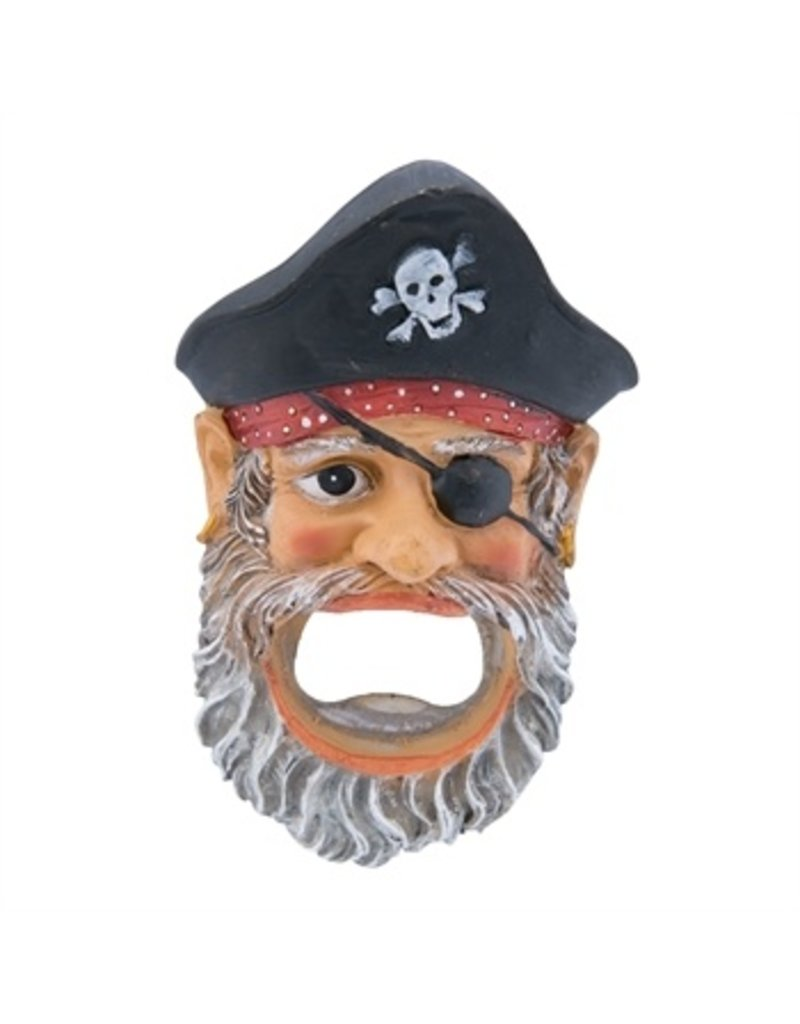 Bottle Opener/Magnet, Pirate