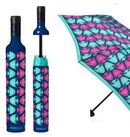 Vinrella Wine Bottle Umbrella - School Mates Fish