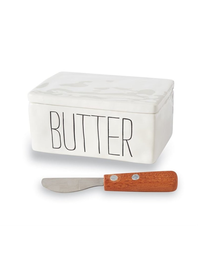 Mudpie Butter Dish Set with Spreader