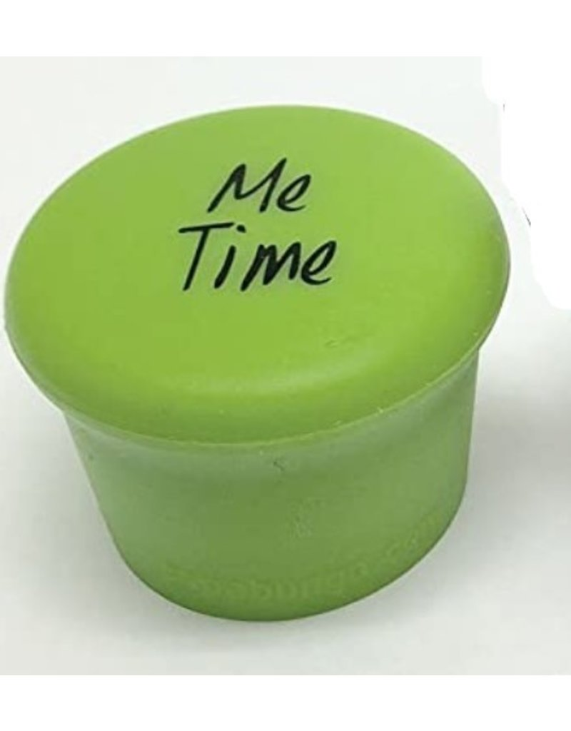 Capabunga Leak-Proof Wine Cap, Green Me Time