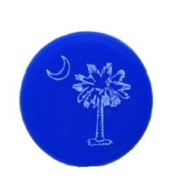 Capabunga Leak-Proof Wine Cap, Blue SC Palmetto
