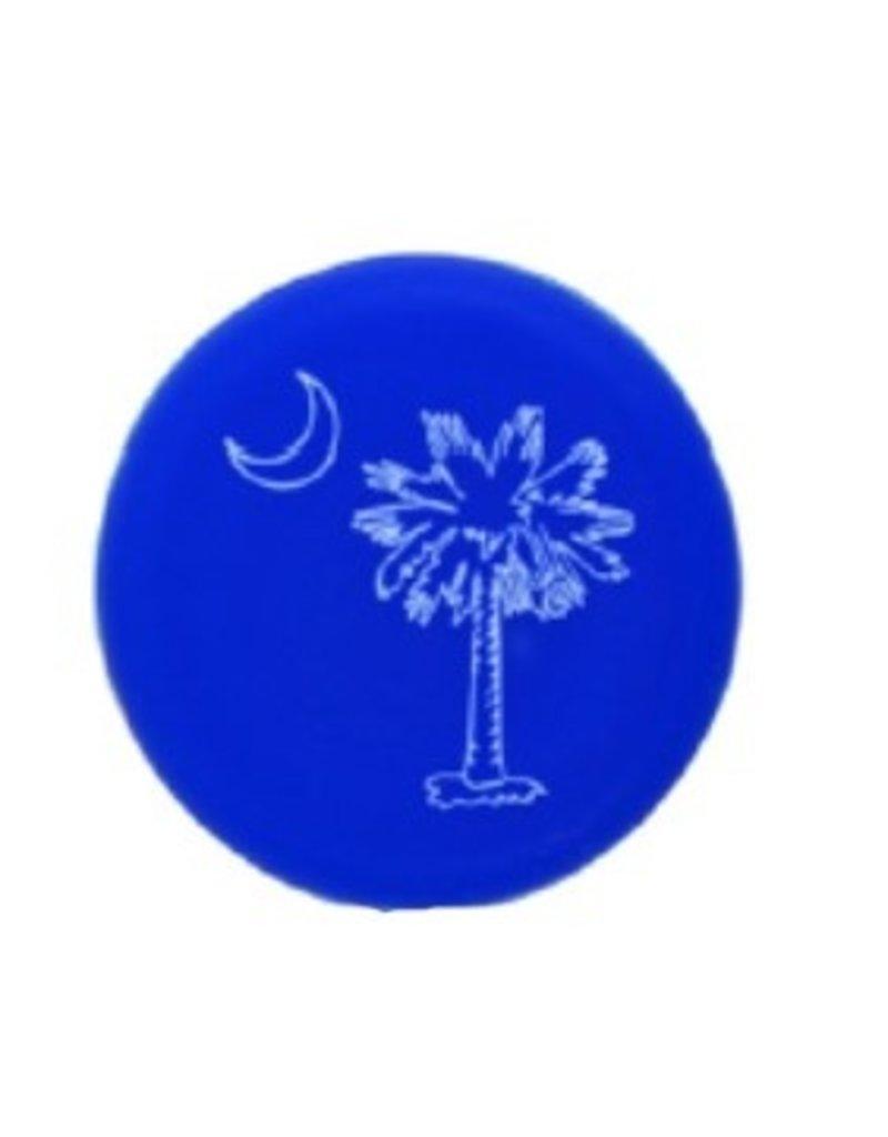 Capabunga Leak-Proof Wine Cap, Blue SC Palmetto