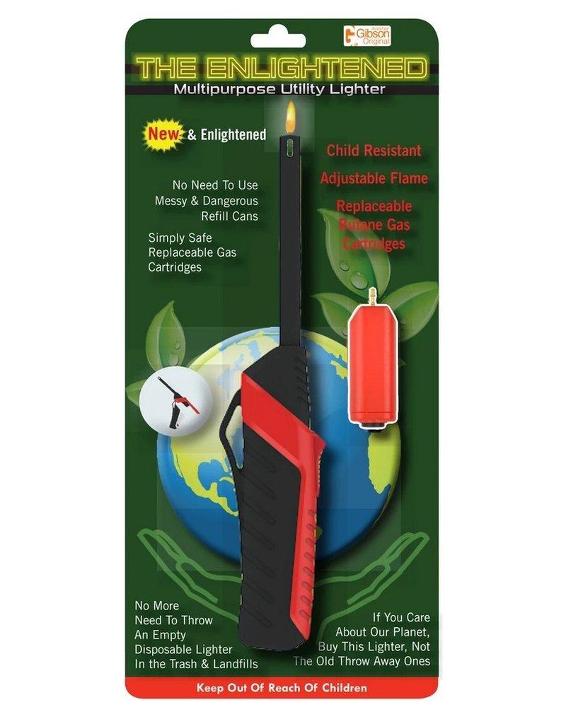 Enlightened Multipurpose Utility Lighter, Refillable disc