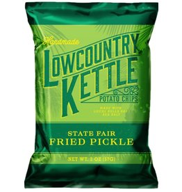 Lowcountry Kettle Potato Chips, Fried Pickle, 2oz discc