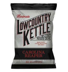 Lowcountry Kettle Potato Chips, Carolina Reaper, 2oz