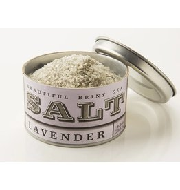 Beautiful Briny Sea Salts, Lavender, 6oz