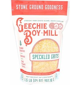 Geechie Boy Geechie Boy Speckled Grits 24oz [white and yellow]