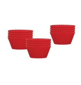 Harold Imports Mrs. Anderson's Baking Silicone Muffin Cups, Set of 12
