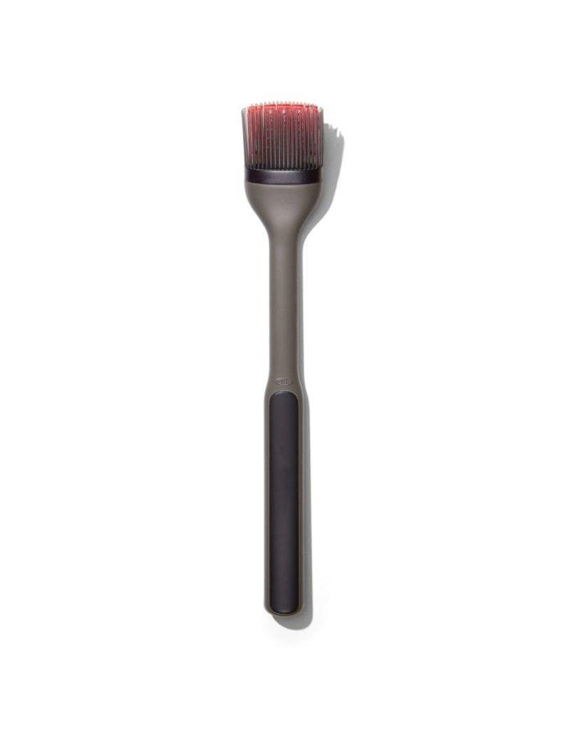 "OXO Good Grips Grilling BBQ Basting Brush, long handle 12.5"""