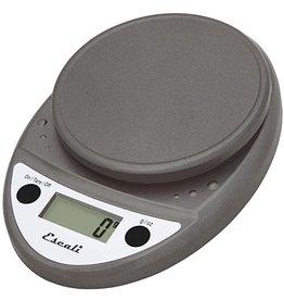 Escali Primo Digital Scale, metallic, 11lb