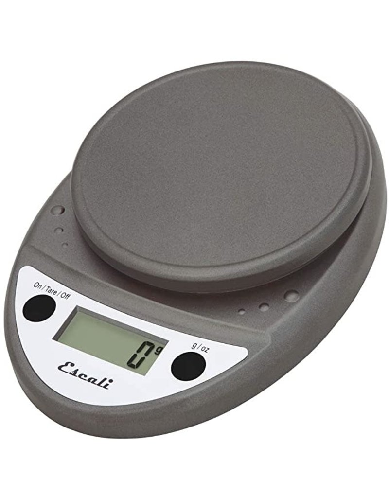 Escali Primo Digital Scale, metallic, 11lb