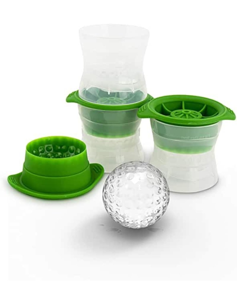 Tovolo Golf Ball Ice Cubes, Set of 2
