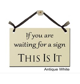 Sign Waiting for a Sign disc